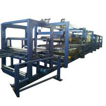 Z-lock eps сэндвич панели линия для производства металлических здания
