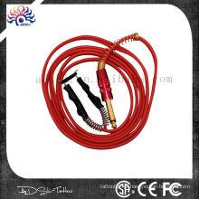Nuevo gel de sílice suave tatuaje cuerdas de clip para el suministro de energía