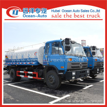 Dongfeng 15000liters 4X2 dirigem o caminhão da aspersão da água da roda da movimentação venda