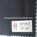 Acabado duro liso / sarga 100% traje de poliéster interlineado