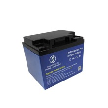Paquete de batería de iones de litio recargable de 12v