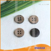 Botões de coco naturais para vestuário BN8035