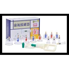 Hochwertiges Schröpfen Set (C-1-12B) Akupunktur