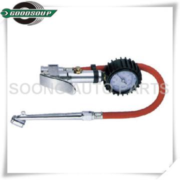 Dial Reifenlehre / Reifenfüllung / Reifenpistole mit Gummigehäuse