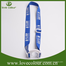 Custom water bottle holder neck strap lanyard