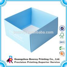 Caja de empaquetado plegable blanca de la caja de regalo de papel para el embalaje de las muñecas