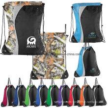 Multicolor Sports Drawstrting Taschen für Werbung