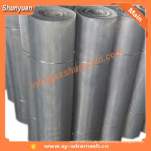 Fabrikpreis !! Anping Aluminium Wire Mesh für Fensterscheibe [ISO]