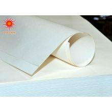 papel de embalagem revestido do branco do pe do milímetro no rolo para o açúcar e o envolvimento de doces