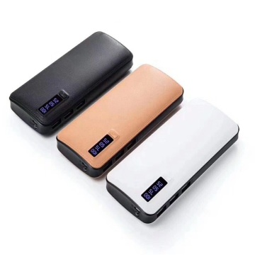 2018 New Power Bank USB con display digitale