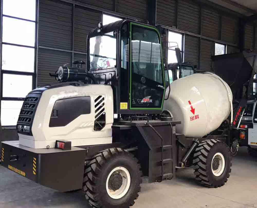 self loading concrete mixer truck