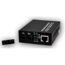 Single Mode To Multimode Copper Fiber Media Converter