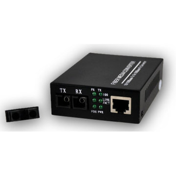 Single Mode Untuk Multimode Copper Fiber Media Converter