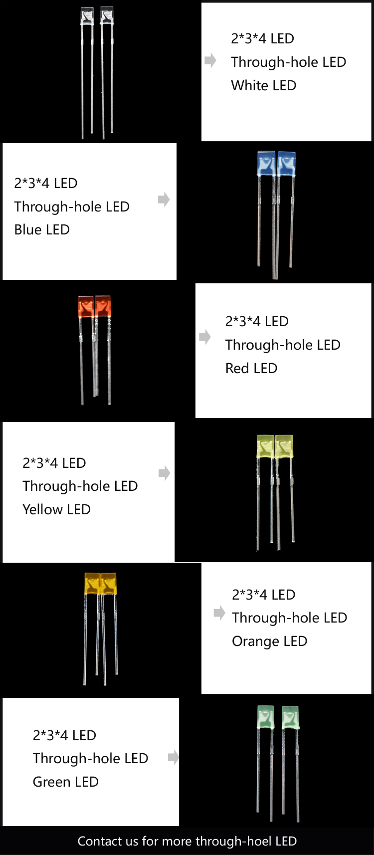 rectangle LED