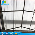 Polycarbonat Blatt Preis, China Lieferant von Gewächshaus PC-Blatt mit guter Qualität