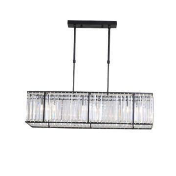 Accesorios de iluminación de vidrio para comedor