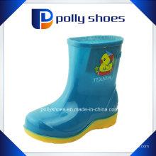 Custom Made Jelly PVC chuva sapatos para crianças