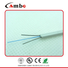 Embalaje de tambor de madera G657A1 Bend Residence 1/2/4 núcleo de mariposa LSZH Jacket 6 cable de fibra óptica