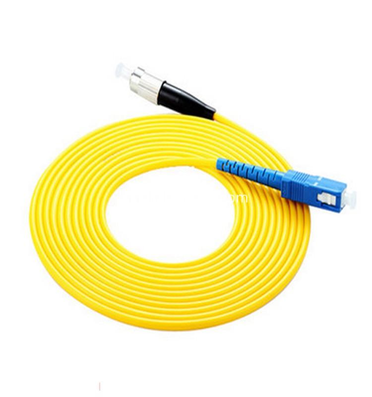 SC-FC singlemode simplex patch cable