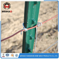 T barbed wire post pole
