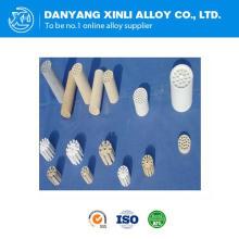 Tubo de cerámica de alta pureza de alúmina utilizado en muchos campos