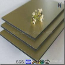 Espelho Metal Material de construção Painel composto de alumínio