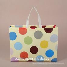 2017 neue Werbe PP Non-Woven Bag, Nonwoven Tasche zum Einkaufen, wiederverwendbare Non Woven Bag