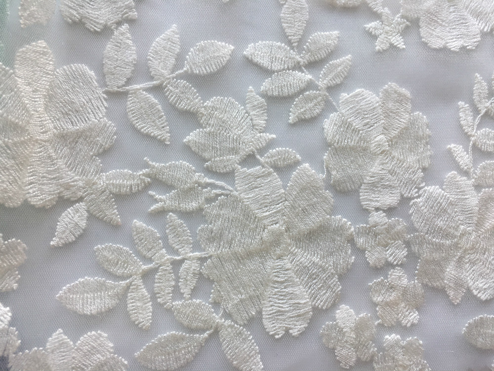 Nylon Mesh Embroidery Fabric
