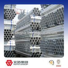 Tuyau d'acier galvanisé par immersion chaude de 3/4 pouces (norme de BS)