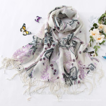 Hot New Soft Wool Cashmere Pashmina Embroidered Shawl Shawls/Scarf Scarves Wrap
