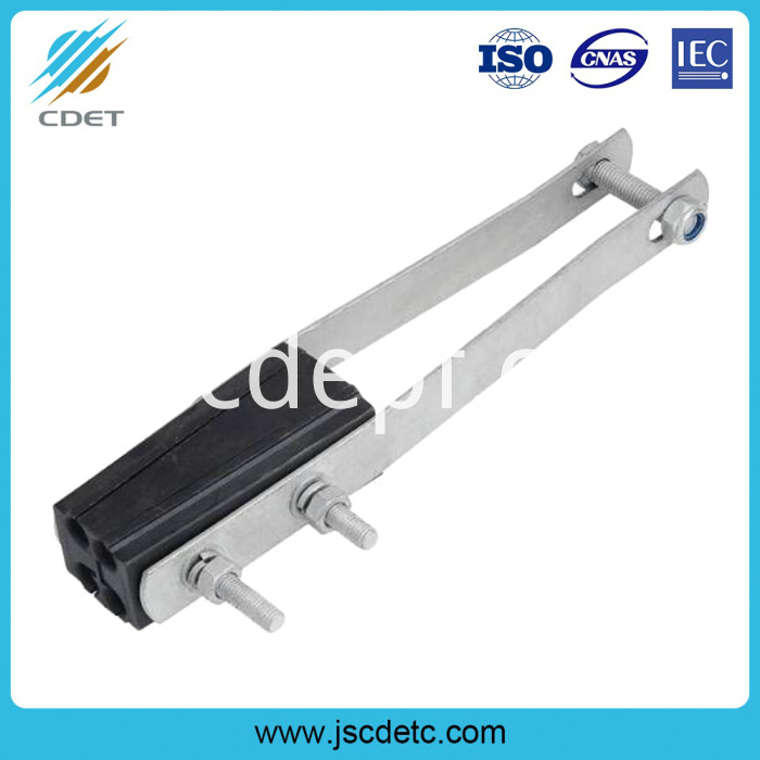 Insulation achoring clamp