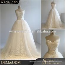 Vestidos de noiva de alibaba de fabricação chinesa profissional