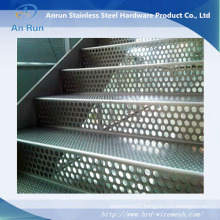 Perforated Metal for Stair Treads
