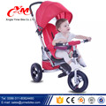 OEM kids walk three wheel bike/ride on toys cycle for kids 1 2 years/rubber wheel tricycle baby 2016 foldable