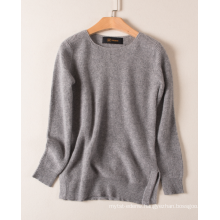 17PKCS476 2017 knit wool cashmere knitted lady sweater