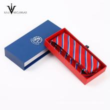 Conjunto de gravata de seda de jacquard de seda