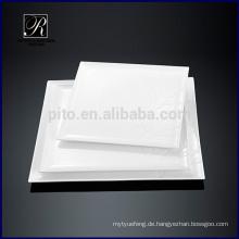 Keramikplatte Dinnerware quadratische Platte