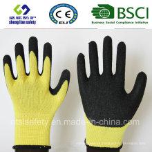 Luvas de látex, luvas de trabalho de segurança (SL-R506)