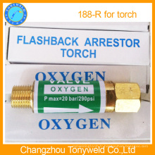Vanne Yamato oxygène Retenue flashback 188R pour torche