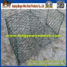 Anping Wire Mesh Galvanized Gabion Box Preço