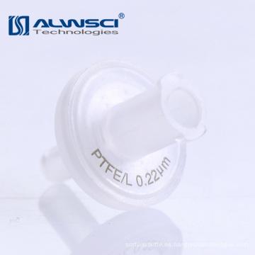 Laboratorio suministra filtros de jeringa estériles de 0,45 micras de celulosa