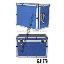 blue heavy duty aluminum tool box