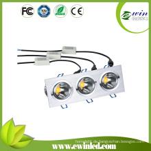 Einstellbare LED Downlighting mit 3 Jahren Garantie