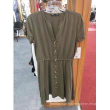 Платья с V-образным вырезом повседневная одежда для дам