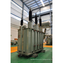 110kv Dos bobinados, transformador de potencia de regulación de voltaje de descarga