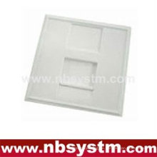 Face Plate 1 Port, französischer Typ, Größe: 45x45mm