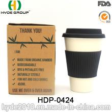 2016 taza de fibra de bambú portátil de moda (HDP-0424)