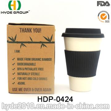 2016 modische tragbare Bambusfaser Cup (HDP-0424)