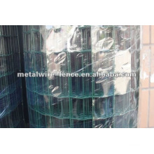 PVC coated iron rolled euro fence