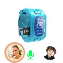 Caçoa o perseguidor de GPS do relógio de pulso com monitor, alarme Anti-Perdido (wt50-kw)